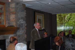Kooser at SSML luncheon