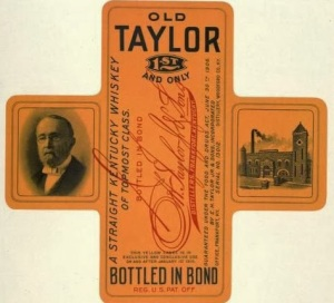 EH Taylor label 1913_1