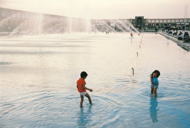 Children in Fountain--Esfahan