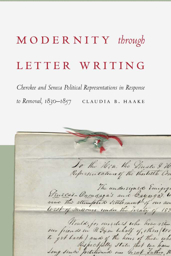 Modernity Through Letter Writing cover