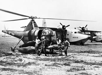 Korean War rescue aircraft
